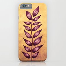 Abstract Plant With Purple Leaves iPhone 6s Slim Case