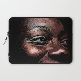 Skin - Life in the Eyes Laptop Sleeve