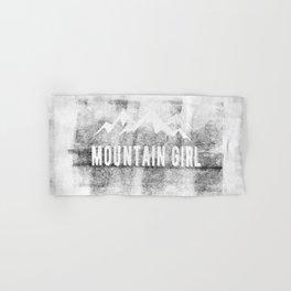 Mountain Girl Hand & Bath Towel