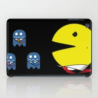 pacman iPad Cases featuring pacman effect by Capadochio