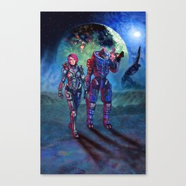 Trouble On Palaven Canvas Print