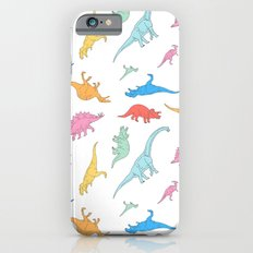 Dino Doodles iPhone 6s Slim Case