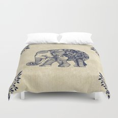 Simple Elephant Duvet Cover