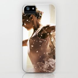 Angel Ballerina iPhone Case