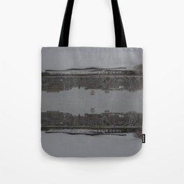 limoilou upside dow Tote Bag