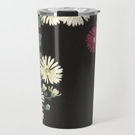 Chrysanthemums and Running Water Travel Mug