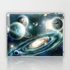 Planets & Black hole Laptop & iPad Skin
