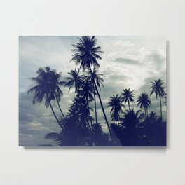 Palm Trees II Metal Print