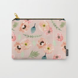 Icelandic Poppies Pattern Carry-All Pouch
