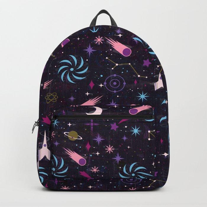 Galaxy Glitch Backpack
