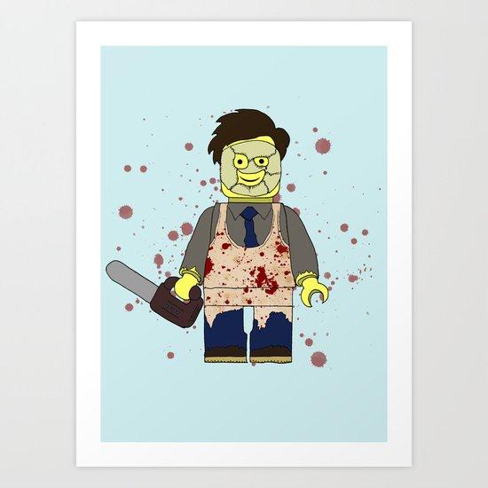 LEGOFACE Art Print