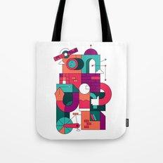Time Machine Tote Bag
