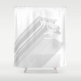 love minimalism Shower Curtain