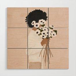 Bouquet of Flowers Wood Wall Art