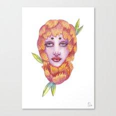Peonies 2/2 Canvas Print