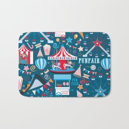 Fun Fair Bath Mat