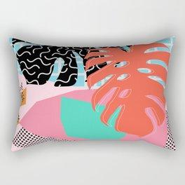 Memphis Palm Rectangular Pillow