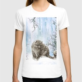 Wonderful snowleopard T-shirt