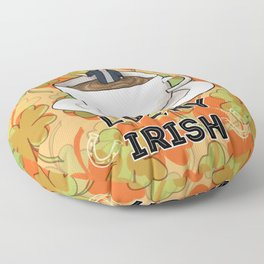 Irish Luck Floor Pillow