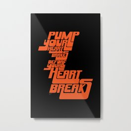 Heartbrake Metal Print