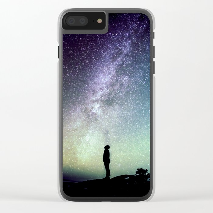 Deep Thoughts Of the Universe Clear iPhone Case