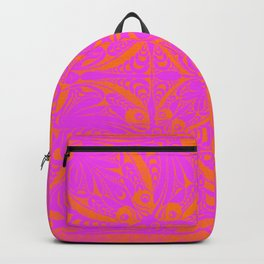 Retro Graphic Backpack