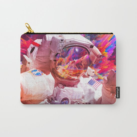 Astronaut (Abstract 30) Carry-All Pouch