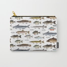 A Few Freshwater Fish Carry-All Pouch