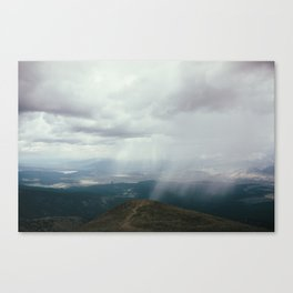 Hail Over the Sawatch Canvas Print