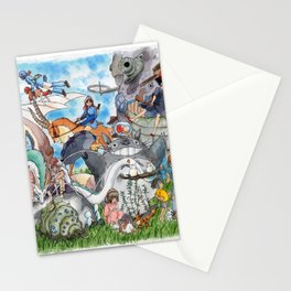 Studio Ghibli Stationery Cards