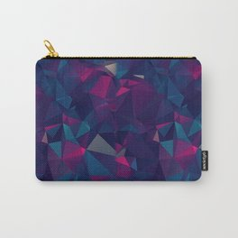 Amethyst ROCK PATTERN Carry-All Pouch