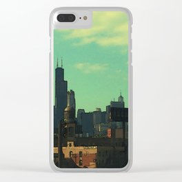 Portrait of a City Clear iPhone Case