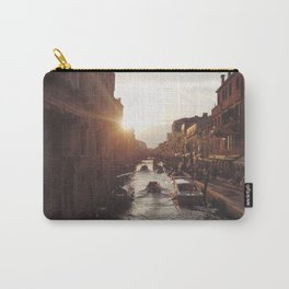 BOAT - STREETS - RIVER - TOWN - LIFE - CULTURE - PHOTOGRAPHY Carry-All Pouch