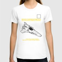 battlestar T-shirts featuring Viper Mark II Service and Repair Manual by adho1982