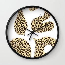 1206 Leopard Spots Wall Clock