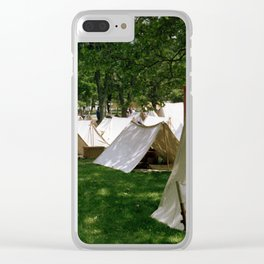 Camp Clear iPhone Case