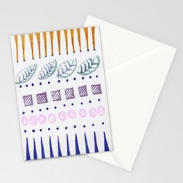 Row by Row Stationery Cards