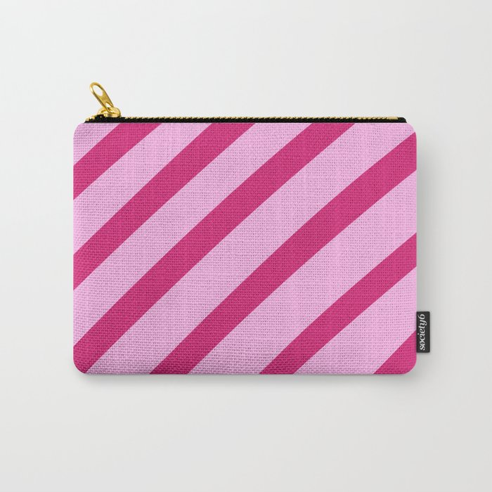Candy Stripes Carry-All Pouch