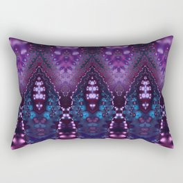 Arabian Princess Bohemian Fractal Rectangular Pillow