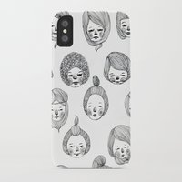 girls iPhone & iPod Cases featuring Girls by Young Ju
