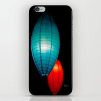 lanterns iPhone & iPod Skins featuring Lanterns by Aleksander V. K.
