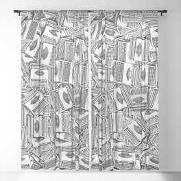 Tell Your Story Sheer Curtain