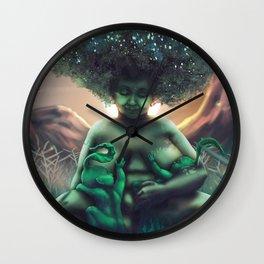 Mother Baobab Wall Clock
