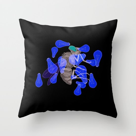 ZZZZZZZZ Throw Pillow