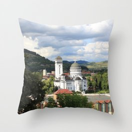 Sighisoara III Throw Pillow