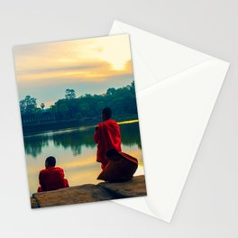 morning contemplation Stationery Cards