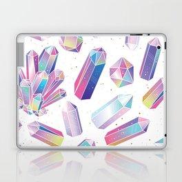Purple Crystals Laptop & iPad Skin