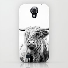 portrait of a highland cow Slim Case Galaxy S4