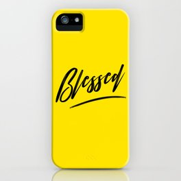 Blessed iPhone Case