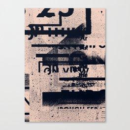 Typefart 004 Canvas Print